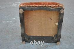 19th Century Footrest In Lacquered Wood