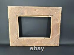 19th Century Golden Wooden Frame In Empire Style