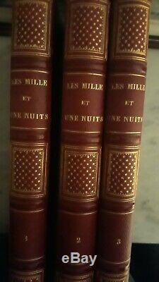 3/3 Grief Somewhat Dated, Illustrations Arabian Nights, Bourdin, 1840