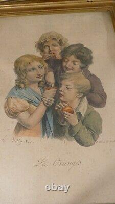 5 After Boilly's Lithographies, The Caricatures, Late 19th Period