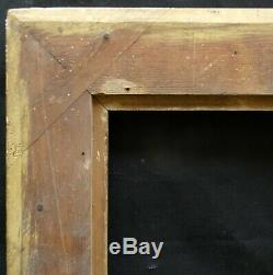# 626 Framework Xixth Wood And Stucco Golden Frame For 80.4 X 65.2 CM