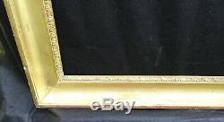 # 655 Framework Xixth Wood Gold Leaf Frame For 74.4 X 60.8 CM