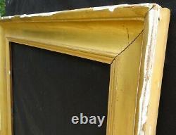 # 677 Framework Xixth Wood Gold Leaf To Frame 74 X 60.4 CM