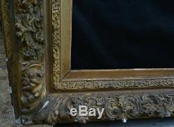 # 689 Grand Framework Epoque Nineteenth Century Frame 75.1 X 56.4 CM