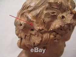 Ancient Bust Bacchus Bake Early Nineteenth Century