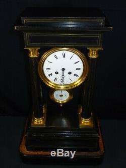 Ancient Gothic Clock Napoleon III Nineteenth, Gantry Clock