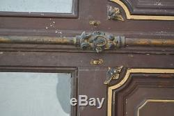 Antique Doors At The End Of The 19th Century