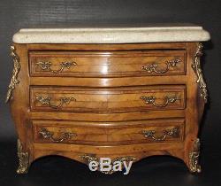 Antique Miniature Dresser Galbee Ormolu Epoque XIX Eme Antique Chest Of Draws
