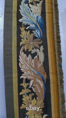 Aubusson Tapestry Door With Acanthus Leaves, 19th Century