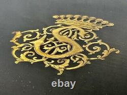Aucoc Senior In Paris Box & Travel Crown Comtale Age XIX Ème Antique Box