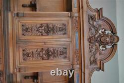 Bahut Two Walnut Bodies Style Henri II Period Late 19th Century