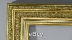Barbizon Frame Wood And Stucco Doré Time XIX Century