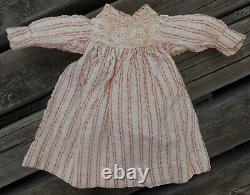 Beautiful Dress Bb Type Jumeau Bru Steiner Era Late Xixth