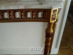 Beautiful Louis XVI Giltwood Console Xixth