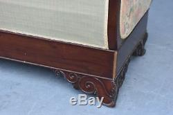 Bench Mahogany Restoration Xixth