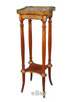 Bolster Louis XVI Style Time Late Nineteenth Mahogany
