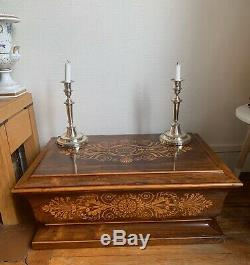 Box Box Wedding Shawl Or Time Charles X XIX Eme Crown Contale