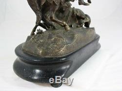 Bronze Charles Martel Nineteenth Time