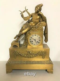 Bronze Pendant Gold Era Empire 19th Century