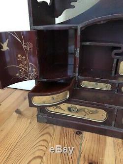 Cabinet Lacquer From Japan XIX Eme Meiji Era
