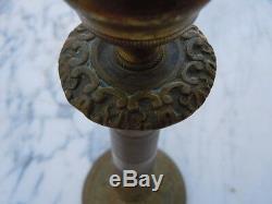 Candlesticks Candlesticks Bronze Nineteenth Century Century Empire Restoration