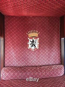 Canopy Bed Style Haute Epoque Nineteenth Century