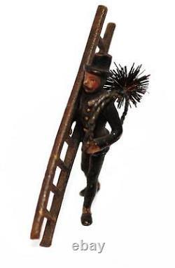Chimney Sweep Bronze Vienna Late Xixth