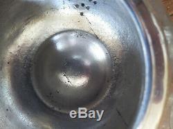 Christofle Silver Teapot Metal Guilloche Era XIX