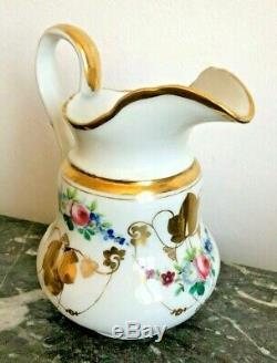 Coffee Set Paris Porcelain, Time XIX