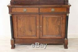 Double Antique Buffet Cherry Wood, Empire 1800 Sec XIX
