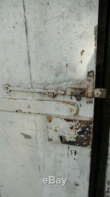 Double Door Entry Wooden Studded With Transom, Then End Xviii, XIX