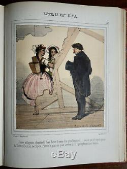 Edouard De Beaumont (1812-1888) Opera In The XIX Eme, 58 Lithographs, Color Era