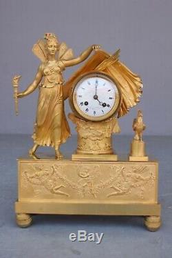 Empire Period Clock Representative Dawn Nineteenth