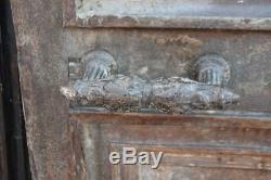 Entrance Door Old Walnut Nineteenth Time