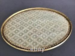 Especially. Golden Bronze Table Center Epoque Empire Xixeme Service Tray