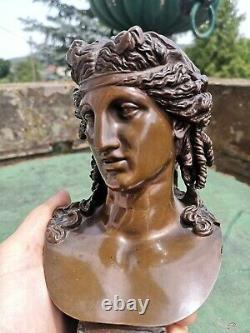 F. Barbedienne Ariane Bronze F. Bronze Epoque 19th Collas