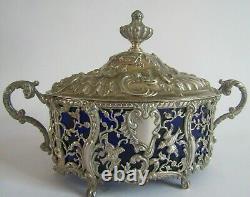 Flower Centerpiece Silver Age Nineteenth Boivin Victor Ravinet Hell