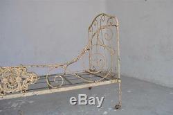 Folding Bed Xixth Wrought Iron