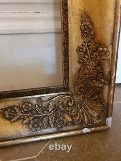 Former Gilded Frame Era 19th Century Empire