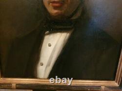 Former Portrait Of Man, Oil On Canvas, Era XIX Th S