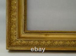 Former Small Golden Wood Frame Era Empire 19th Century