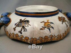 Gien Earthenware Melon Cup Period Late Nineteenth Century