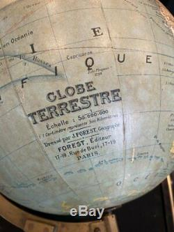 Globe By J. Forest Period End XIX