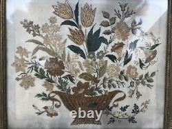 Great Painting In Embroidery Epoque Empire Xixeme