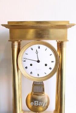 Important Regulator Clock Nineteenth Epoque