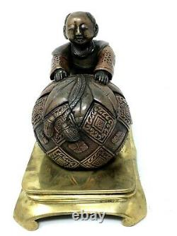 Ink In The Chinese Bronze Period Napoleon III Late 19th Century Bureau