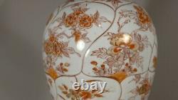 Japanese Porcelain Lamp Bronze Mount, 19th Century