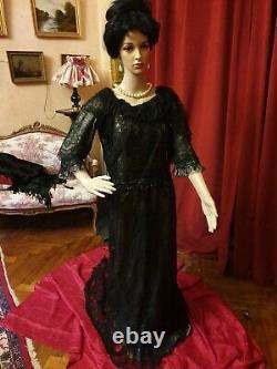 Lace Dress Period 1900