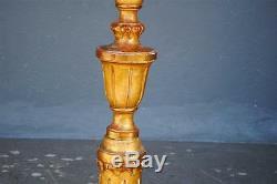 Lamp Base Wood Golden Claw Feet Xixth