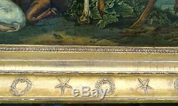 Landscape Taurus From Paulus Potter Epoque Nineteenth Century First Empire Hst
